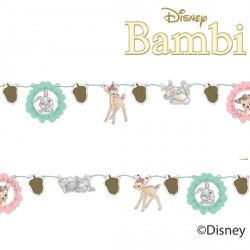 BAMBI CUTIE PAPER GARLAND KIT (1CT X 6 PACKS)