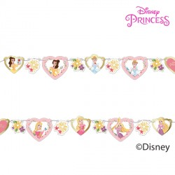 DISNEY TRUE PRINCESS PAPER GARLAND KIT (1CT X 6 PACKS)