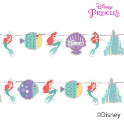 DISNEY ARIEL UNDER THE SEA PAPER GARLAND KIT (1CT X 6 PACKS)