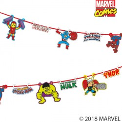 AVENGERS POP COMIC PAPER GARLAND KIT (1CT X 6 PACKS)