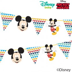 MICKY MOUSE AWESOME PAPER GARLAND KIT (1CT X 6 PACKS)