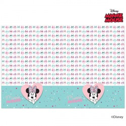 MINNIE MOUSE PARTY GEM PARTY TABLECOVER (1CT X 6 PACKS)