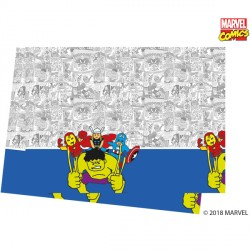 AVENGERS POP COMIC TABLECOVER (1CT X 6 PACKS)