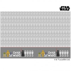 STAR WARS PAPER CUT TABLECOVER (1CT X 6 PACKS)