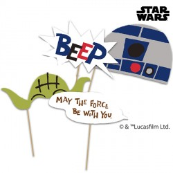 STAR WARS PHOTO PROPS (6CT X 6 PACKS)