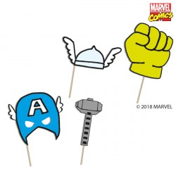 AVENGERS POP COMIC PHOTO PROPS (6CT X 6 PACKS)