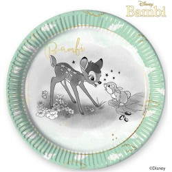 BAMBI CUTIE LARGE PAPER PLATE (8CT X 6 PACKS)