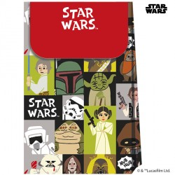 STAR WARS PAPER CUT PAPER BAGS (6CT X 6 PACKS)