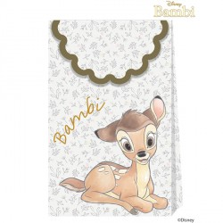 BAMBI CUTIE PAPER BAGS (6CT X 6 PACKS)