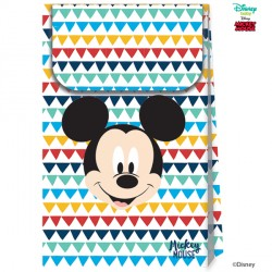 MICKEY MOUSE AWESOME PAPER BAGS (6CT X 6 PACKS)