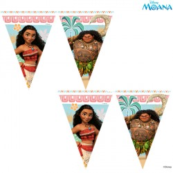 MOANA TRIANGLE FLAG BANNER (1CT X 6 PACKS)