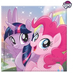 MY LITTLE PONY MOVIE NAPKINS 2-PLY (20CT X 6 PACKS)