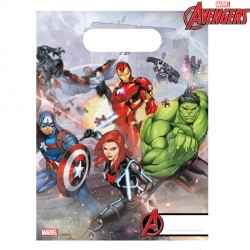 AVENGERS MIGHTY PARTY BAGS (6CT X 6 PACKS)