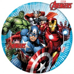 AVENGERS MIGHTY PAPER PLATES LARGE 23cm (8CT X 6 PACKS)