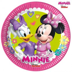 MINNIE MOUSE PAPER PLATES MEDIUM 20cm (8CT X 6 PACKS)