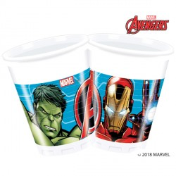 AVENGERS MIGHTY PLASTIC CUPS (8CT X 6 PACKS)