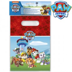 PAW PATROL PARTY BAGS (6CT X 6 PACKS)