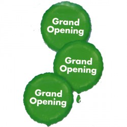 "GRAND OPENING 3 BALLOON CUSTER 18"" SALE"