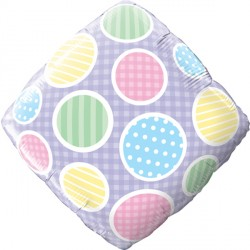"ACCENT PASTEL DOTS 18"" SALE"