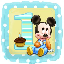 "MICKEY MOUSE 1ST BIRTHDAY 18"" SALE"