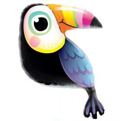 "COLORFUL TOUCAN 41"" SHAPE GROUP C PKT"