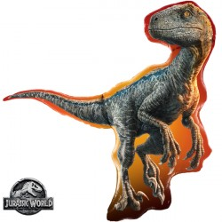 "JURASSIC WORLD RAPTOR 38"" SHAPE GROUP C PKT"