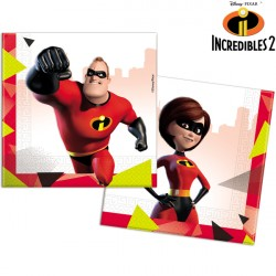 INCREDIBLES 2 NAPKINS 2-PLY (20CT X 6 PACKS)