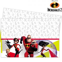 INCREDIBLES 2 TABLE COVER (1CT X 6 PACKS)