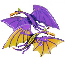 DRAGON PURPLE GRABO SHAPE FLAT