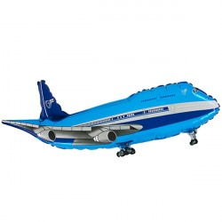 AIRPLANE BLUE GRABO SHAPE FLAT