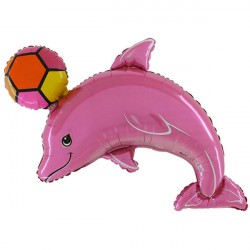 DOLPHIN PINK SHAPE FLAT
