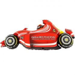 FORMULA 1 CAR RED SHAPE GRABO FLAT