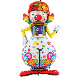 PARTY CLOWN LETS PARTY 5' MAXILOONS SHAPE MX4 PKT