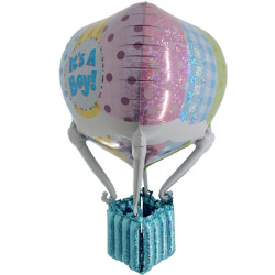 HOT AIR PATCHWORK BABY BOY 3' 3D/4D SHAPE D7 PKT