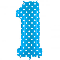 """POIS TURQUOISE NUMBER 1 SHAPE 40"""" PKT"""