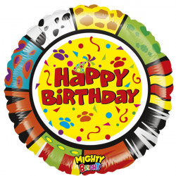 "ANIMALOONS BIRTHDAY 21"" MIGHTY BRIGHT (MB21) PKT"