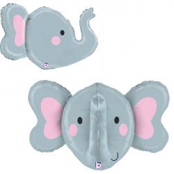 """ELEPHANT 34"""" DIMENSIONALS SHAPE D3 PKT"""