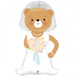 "BEAR BRIDE LINKY 43"" SHAPE G PKT"