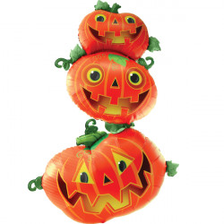 "STACKING PUMPKINS MULTI-BALLOON P70 PKT (40"" x 61"")"