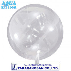 AQUA BALLOON 470mm CLEAR (INFLATES UP TO 800mm)