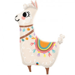 "LOVEABLE LLAMA 45"" SHAPE GROUP B PKT"