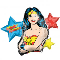 WONDER WOMAN SHAPE P38 PKT