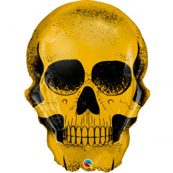 "GOLDEN SKULL 36"" SHAPE GROUP C YZP"