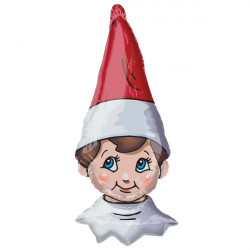 ELF ON THE SHELF SHAPE P38 PKT
