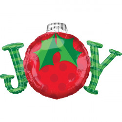 JOY ORNAMENTS SHAPE P35 PKT