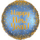 GOLD & SATIN NEW YEAR STANDARD S40 PKT