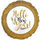 GOLD GLITTER NEW YEAR STANDARD S40 PKT