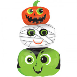 HALLOWEEN HEADS SHAPE FLAT SALE