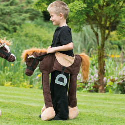 BOYS WILL BE BOYS PONY RIDE ON AGE 3+ ONE SIZE