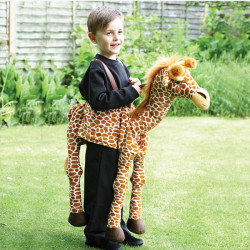 GIRAFFE RIDE ON AGE 3+ ONE SIZE